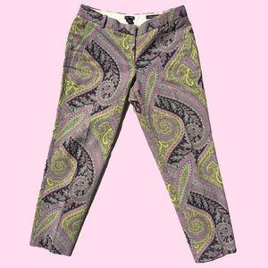 J. Crew Graphic Pants